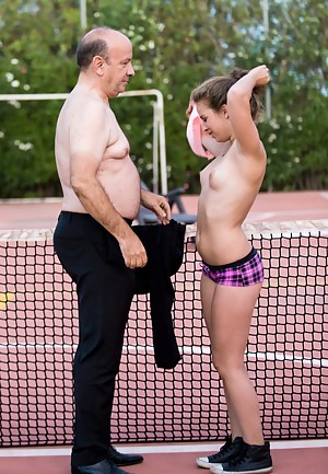 Naked Old Man and Teen Porn Pictures