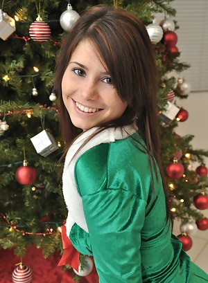 Naked Teen Christmas Porn Pictures
